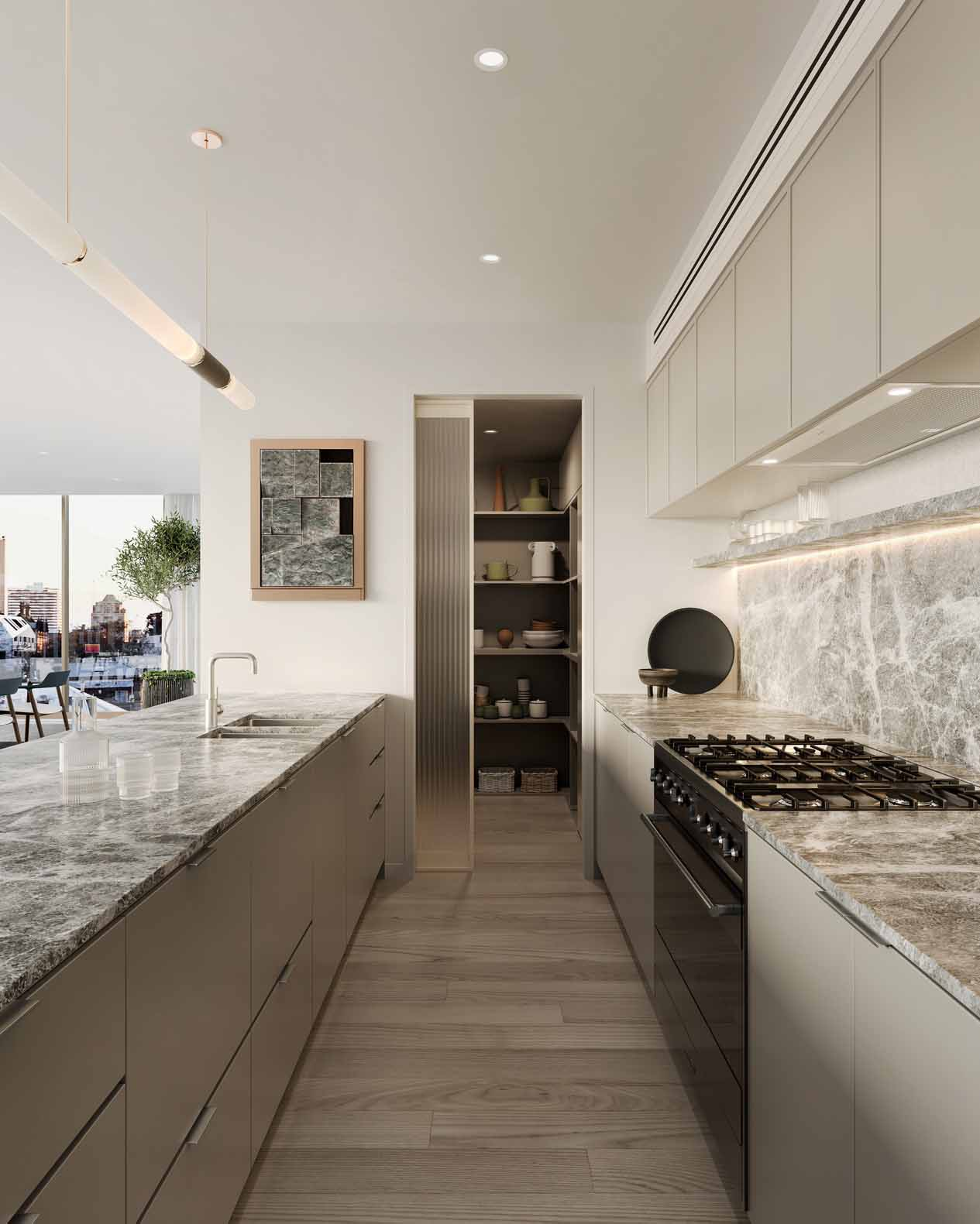 C&L-Residencies-Collingwood-3D-architectural-visualisation-kitchen-FKD-Studio