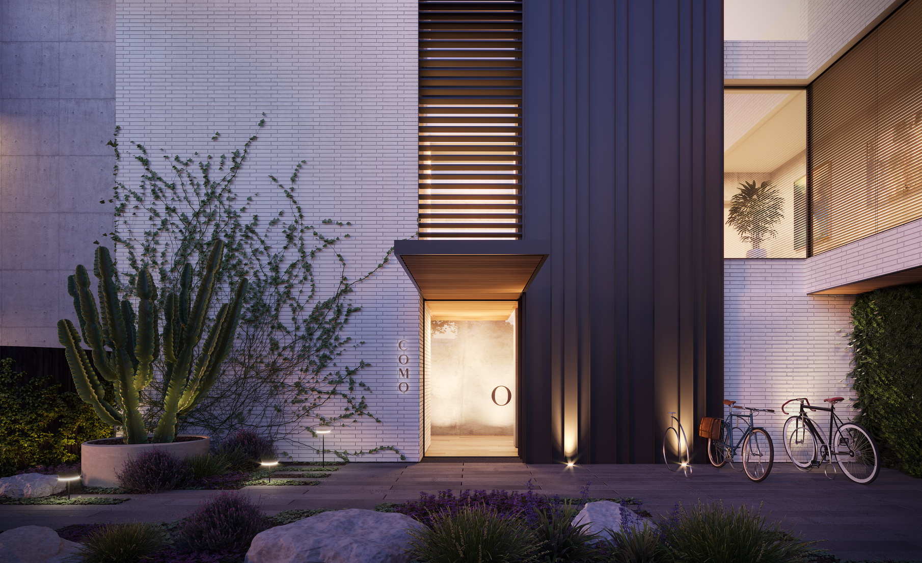 Como-Mckimm-3D-image-visualisation-exterior-detail-bricks