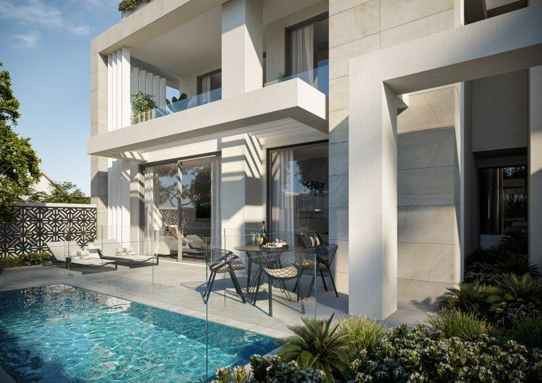 fkd-studio-Trentham-House-courtyard-sandringham-Melbourne-3d-image-visualisation