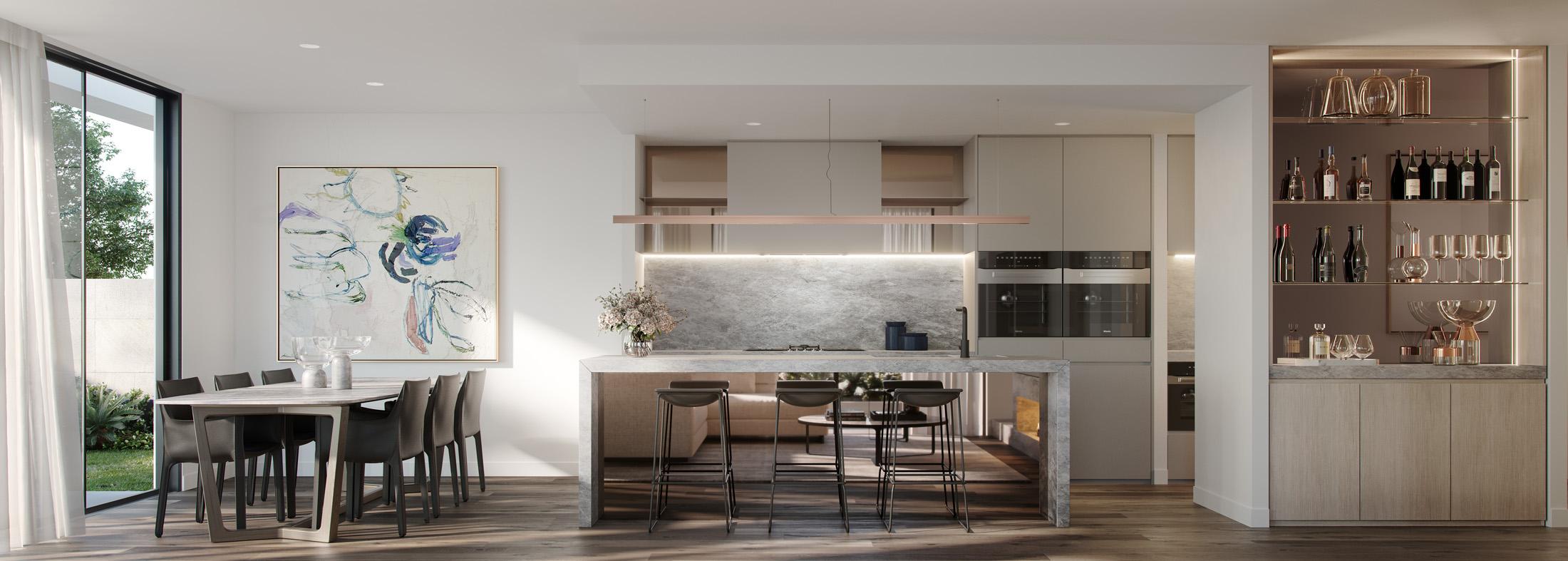 Trentham-House-kitchen-sandringham-Melbourne-3d-image-visualisation