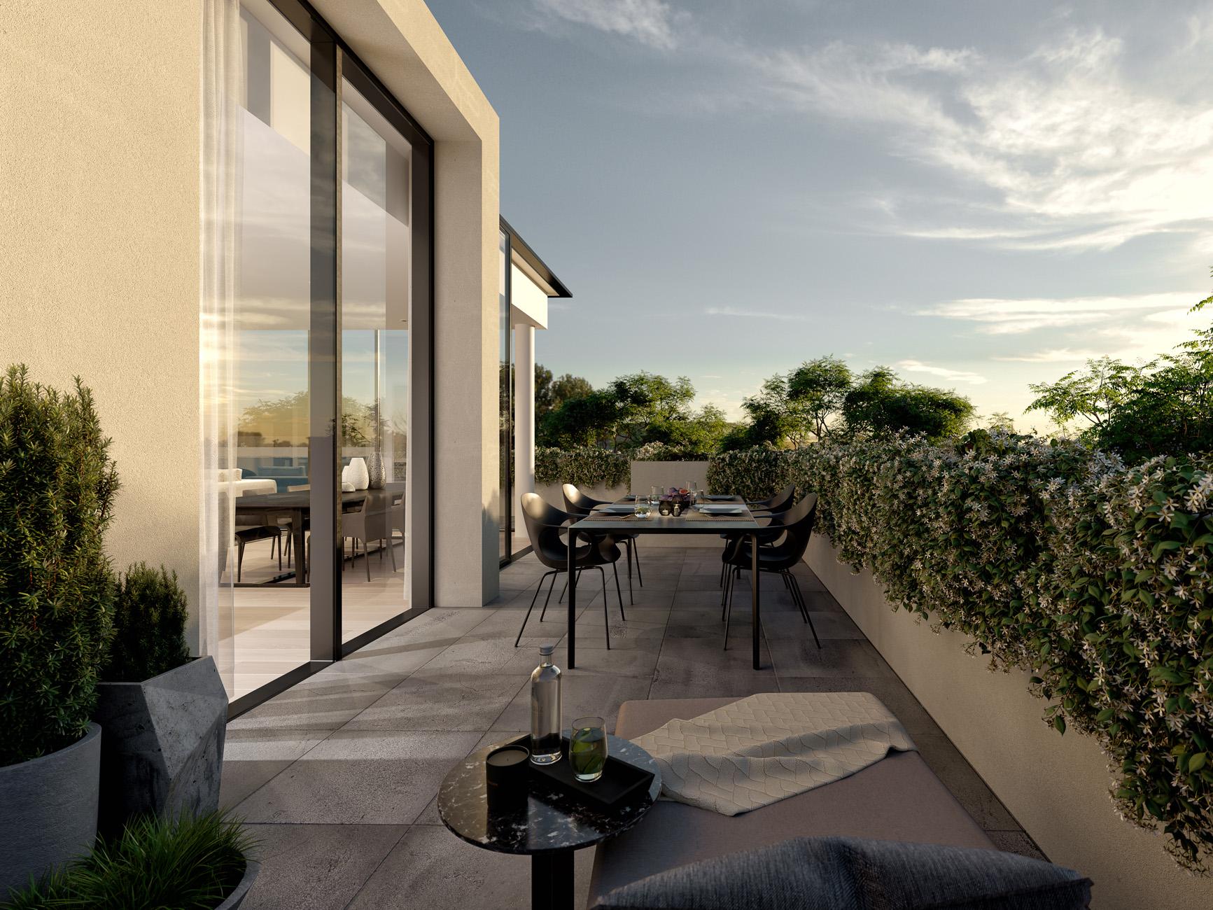 Trentham-House-penthouse-sandringham-Melbourne-3d-image-visualisation