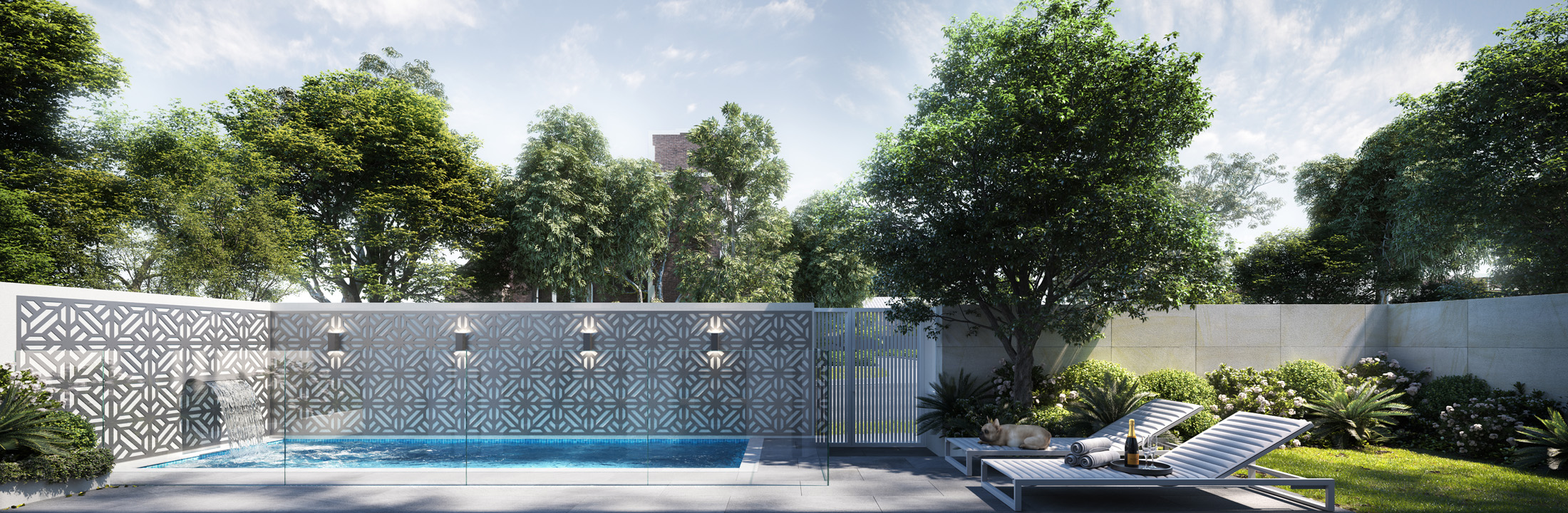 Trentham-House-pool-sandringham-Melbourne-3d-image-visualisation