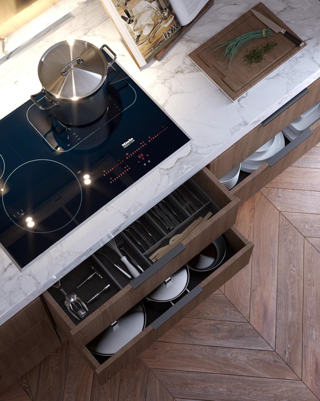 Yarra-One-building-3d-image-visualisation-melbourne-FKD-Studio-living-kitchen