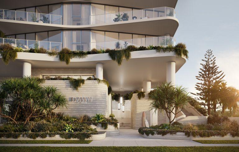 Fkd-studio-dawn-mermaid-beach-mosaic-property-render-3d-entry-exterior