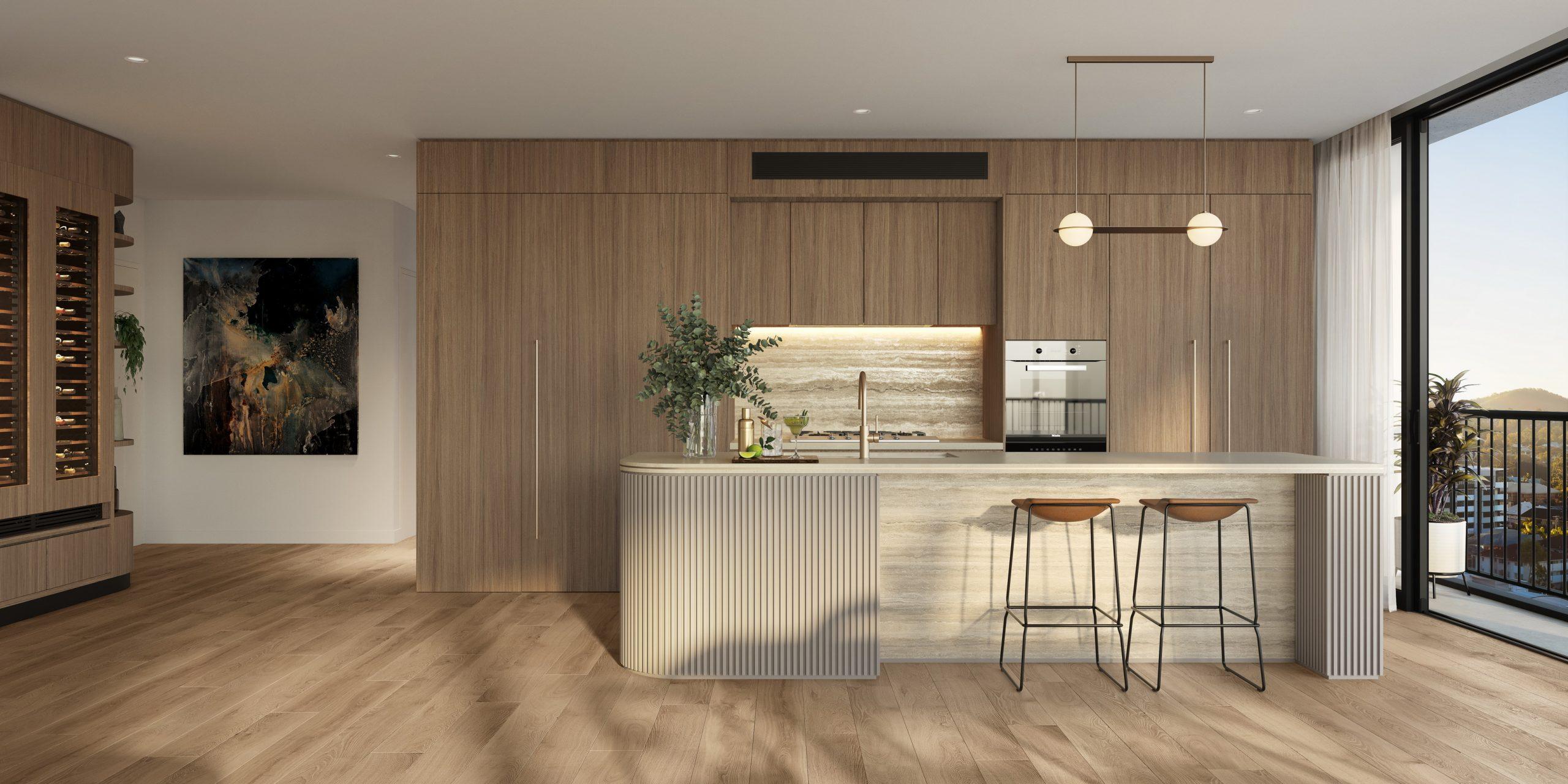 Fkd-studio-the-patterson-toowong-mermaid-beach-mosaic-property-render-3d-interior-render-kitchen