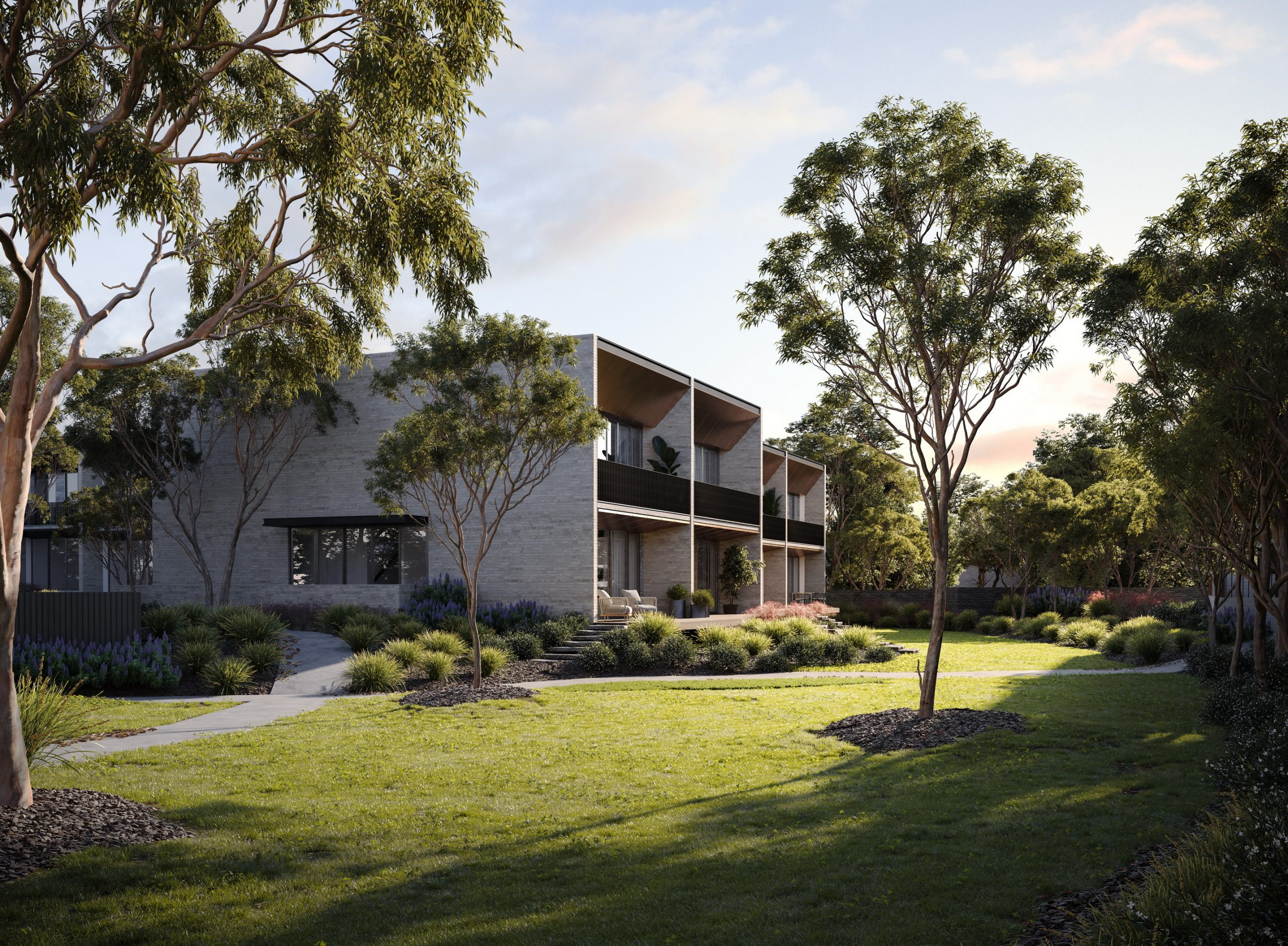 fkd-studio-render-architecture-image-the-grounds-exterior-ivanhoe-residential-parklands