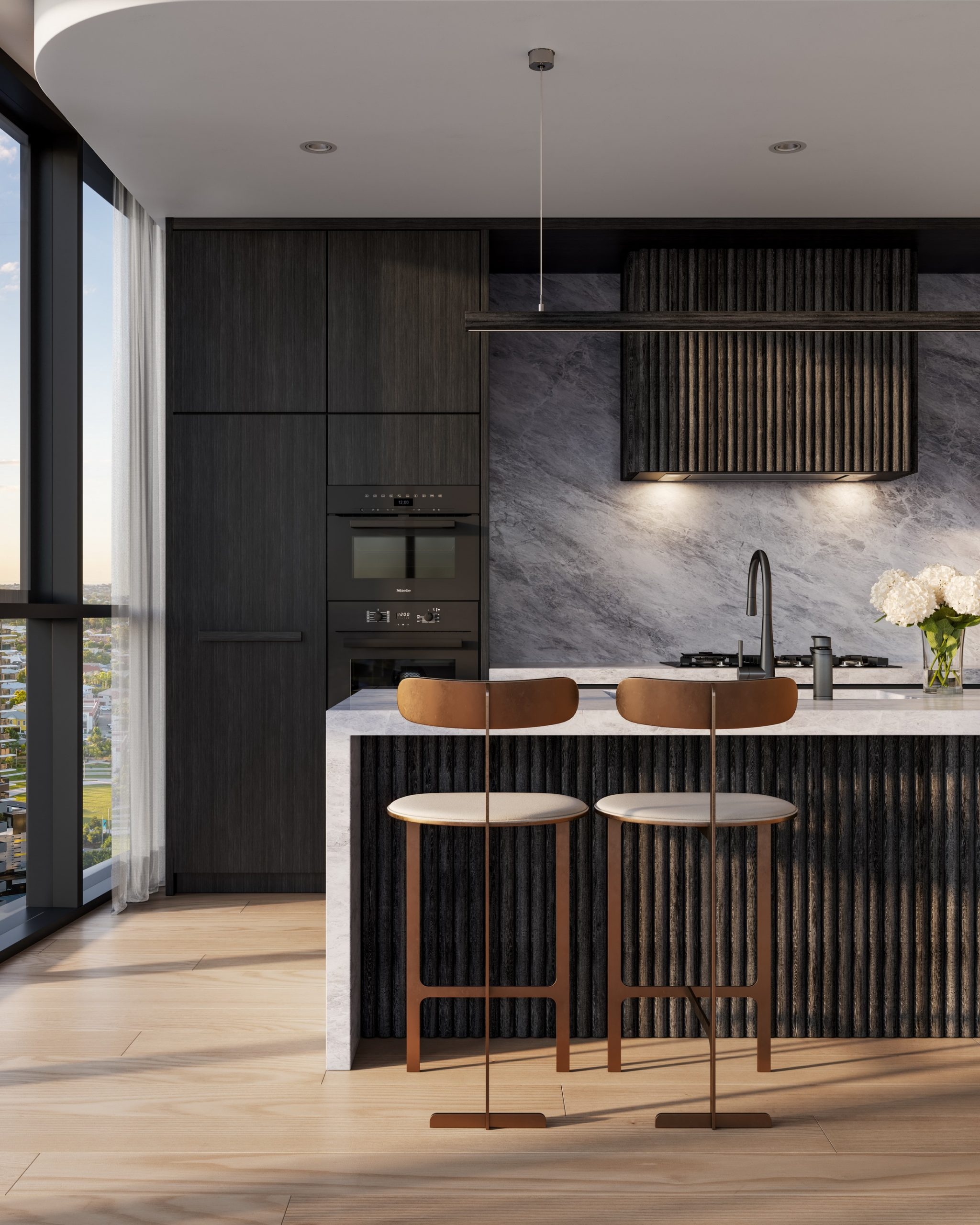 Rivello-queensland-render-3d-fkd-studio-architecture-luxury-interior-design-kitchen-colour